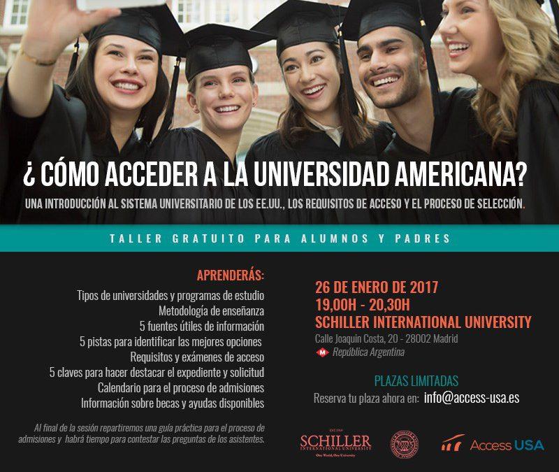 Las claves de acceso a una universidad de los EE.UU.