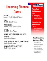 Election Dates Calendar. Nov 2018