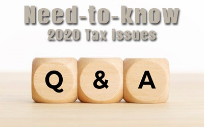 Six Need-To-Know 2020 Tax issues for expats.