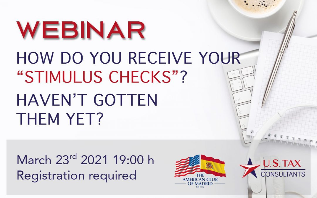 Webinar «All you need to know about the Recovery Rebate Credit»