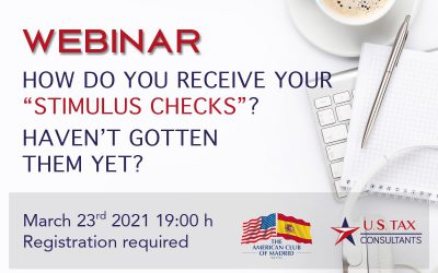 "Webinar ""All you need to know about the Recovery Rebate Credit"""